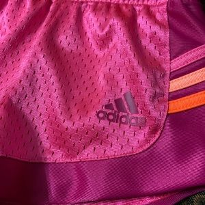 adidas Bottoms - Adidas pink active shorts sz 12 months